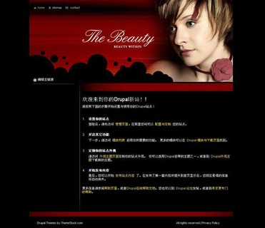 Drupal BeautyWithin主题